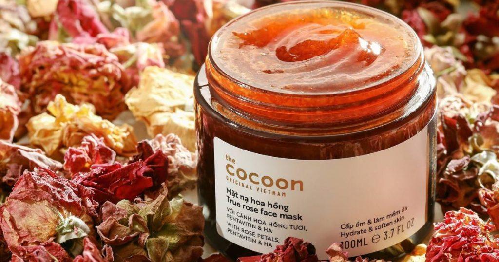 Mặt nạ hoa hồng Cocoon