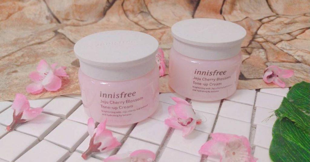 Jeju Cherry Blossom Tone Up Cream Innisfree