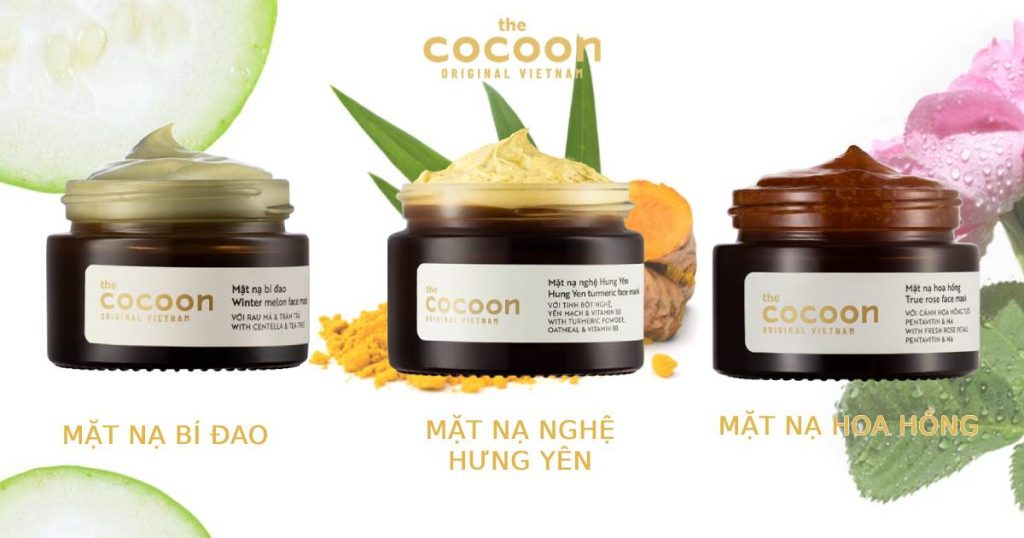 3 loại mặt nạ Cocoon